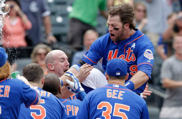 Nieuwenhuis Launches A Walk-Off Homer In Dramatic 4-3 Comeback Win