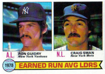 Shoebox Memories: 1978 Topps ERA Leader Craig Swan