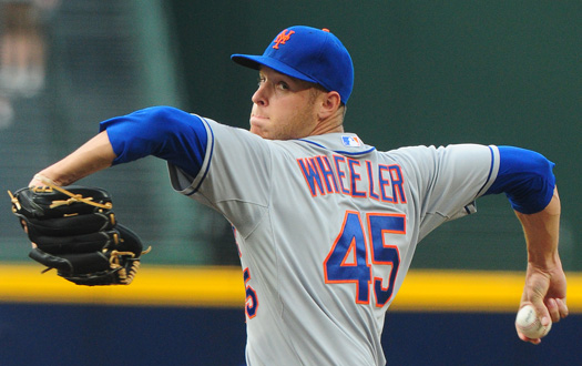Wheeler's Command Is Improving; Only One Walk Over His Last Two Starts