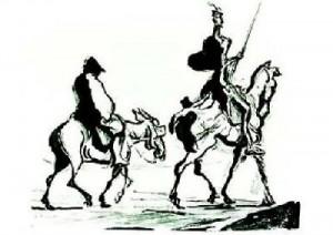 Honore-Daumier-Don-Quixote