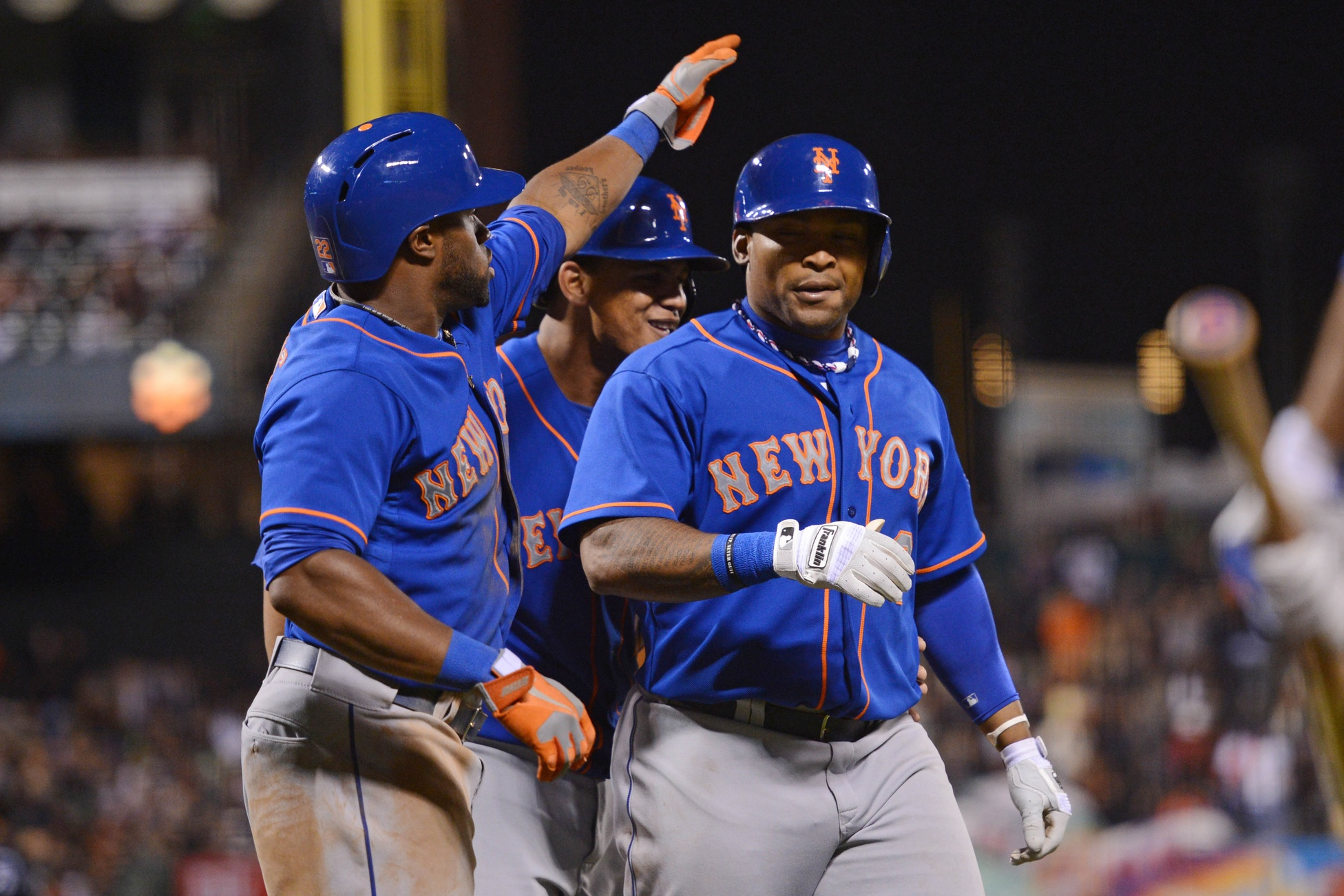 Recker And Byrd Homer To Lift Mets Past Giants