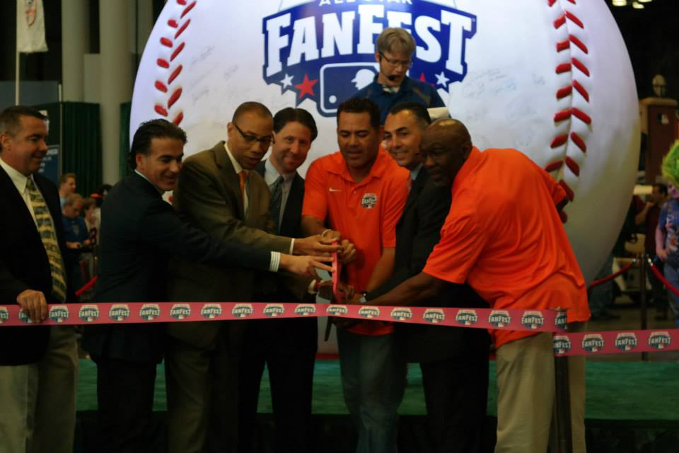 fan fest ribbon cutting