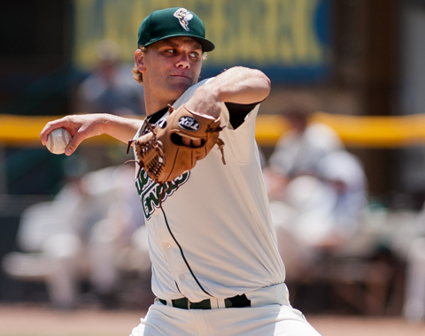 Matt Koch Nearly Perfect, Retires 18 Straight, Savannah Completes Doubleheader Sweep