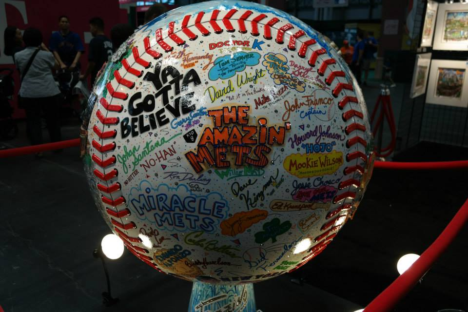 mets baseball fan fest'