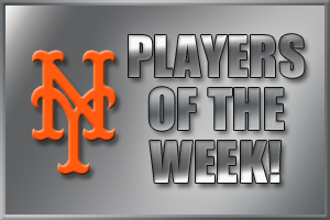 MMO Players of the Week: Lagares and Niese Cop Top Honors