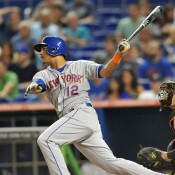 MMO Fan Shot: Juan Lagares vs Eric Young Jr.