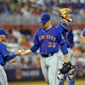 Marlins Get To Harvey Again As Mets Get Shutout 3-0