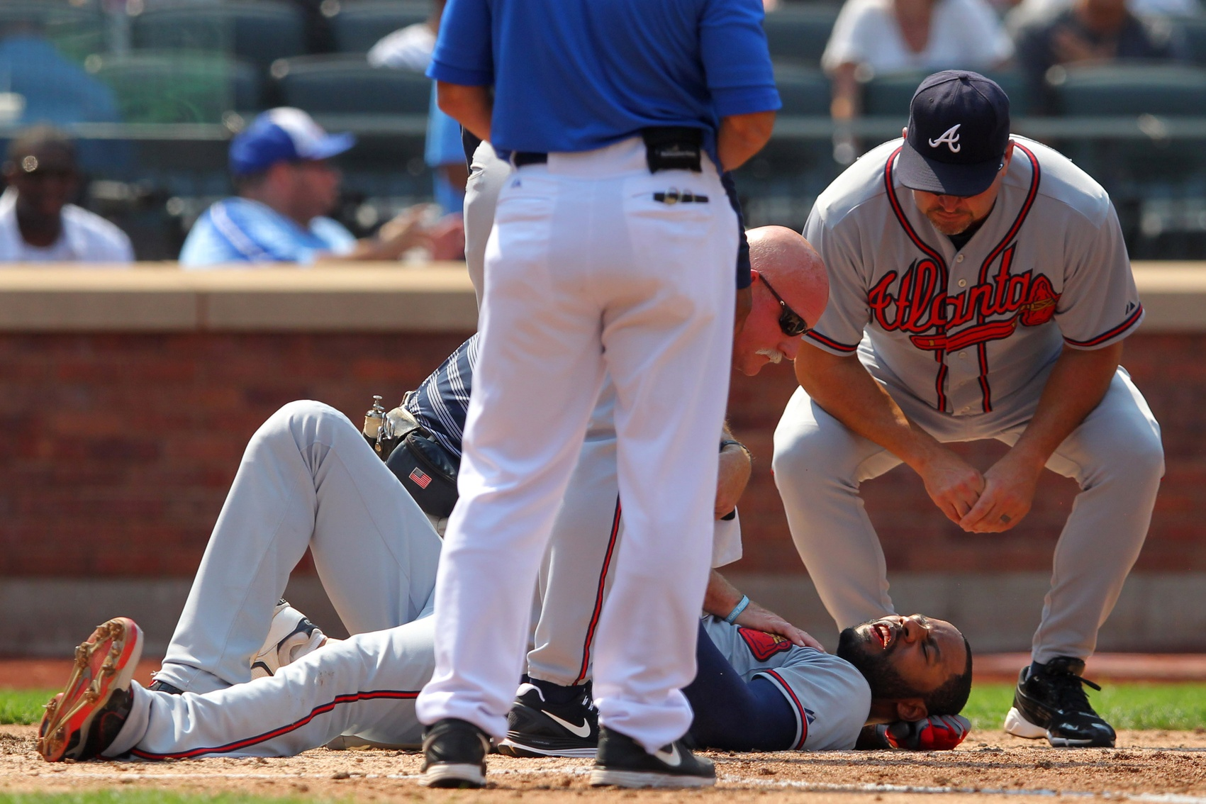 Satin Homers, Niese Shines, But Blown Call Hands Mets 4-1 Loss To Braves