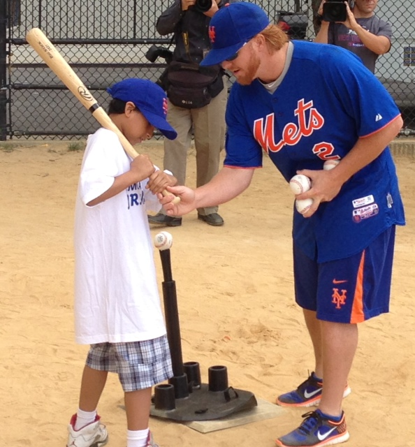 Josh Satin And Justin Turner Host Jr. Mets Camp Program Presented By Citi