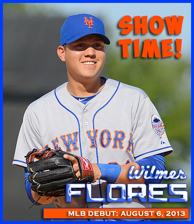Congratulations To Wilmer Flores On His MLB Debut!