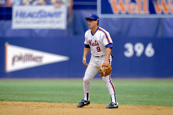Gregg Jefferies.  Alone.  Which is where most of the team wanted to see him.