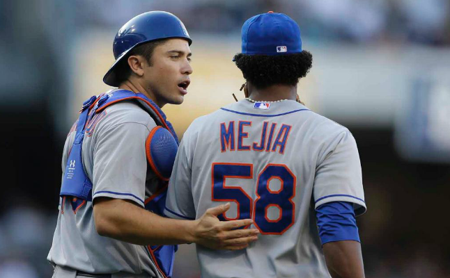Mets Lose Mejia To A Sore Elbow In 8-2 Loss To Padres