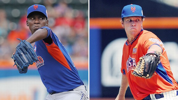 Montero, Syndergaard, deGrom Unlikely To Break Camp With Mets Next Spring