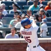 Watch D'Arnaud Hit His First Major League Home Run