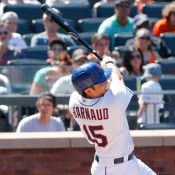 Watch D'Arnaud Hit His First Major League Home Run