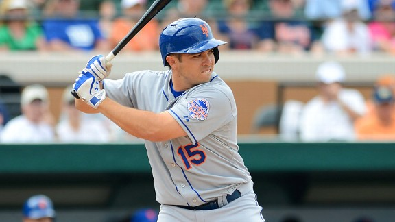 D'Arnaud Rips A Double For First Major League Hit