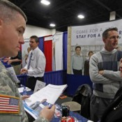 Veteran's Career Expo At Citi Field