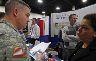 veterans work
