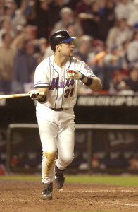 Mike Piazza's home run in the first game back in New York City after the 9/11 terrorist attacks lifted a city in need. (Photo courtesy New York Mets)