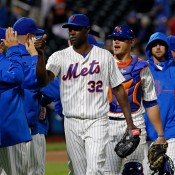 Torres and Matsuzaka Solid, Mets Split Twin Bill With Marlins
