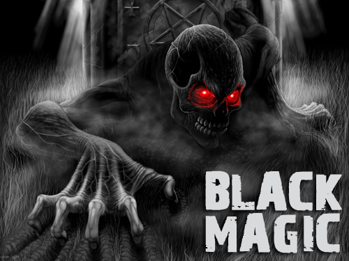 black magic-man