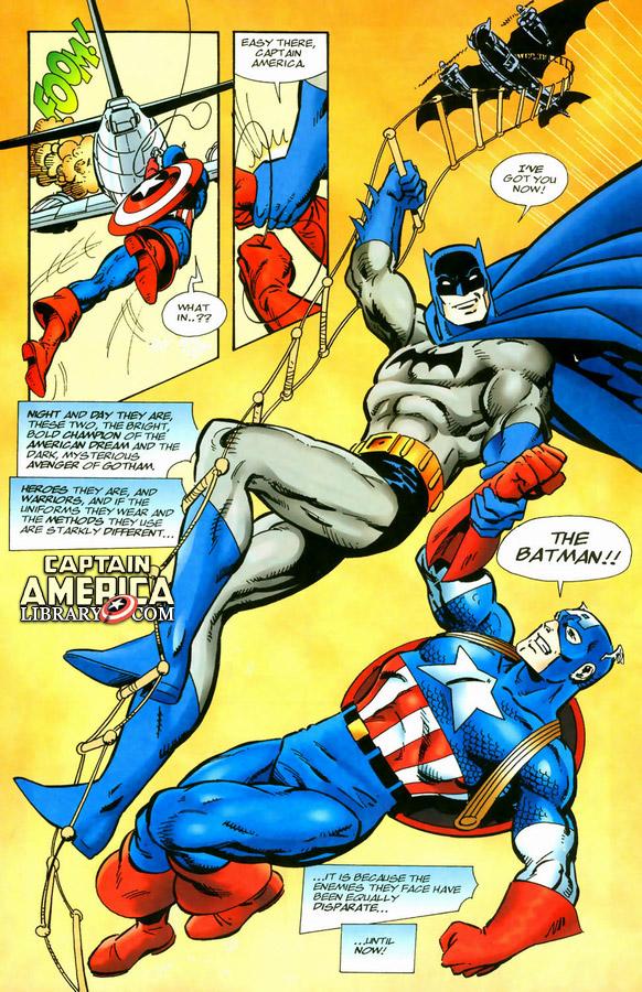 captain america batman