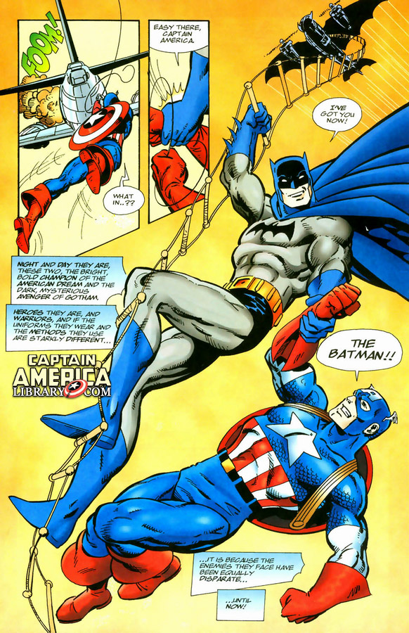 Captain America and Batman Injury Updates Presented By Marvel