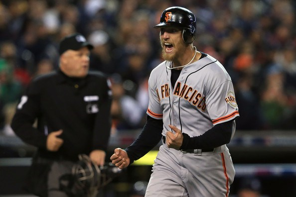 Giants and Hunter Pence Agree To Five-Year Deal Worth $90 Million