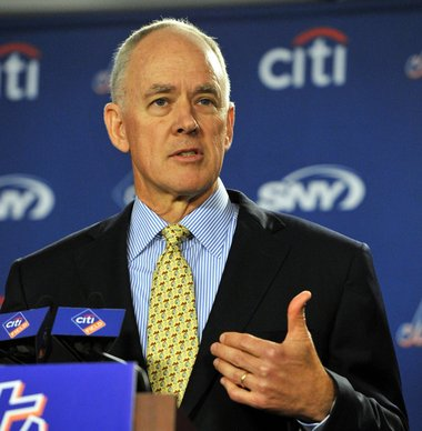 "Sandy Alderson Sees 2013 Season As ""Something To Build On"""