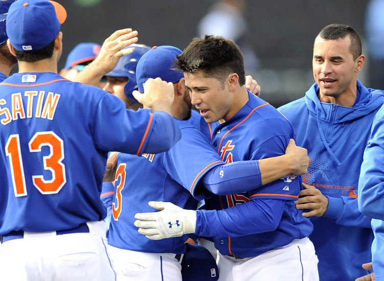 A Relieved D'Arnaud Says Last Night's Walk-off Hit Was Indescribable