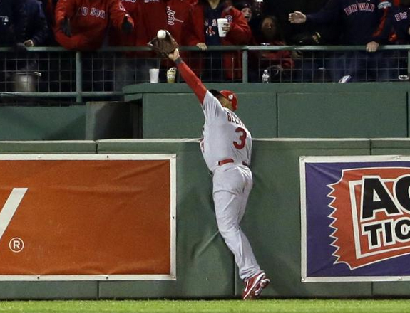 Beltran Leaves Game With Rib Contusion After Grand Slam Robbing Catch