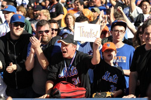 mets fans thanks