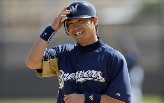 Brewers Unlikely To Trade Norichika Aoki
