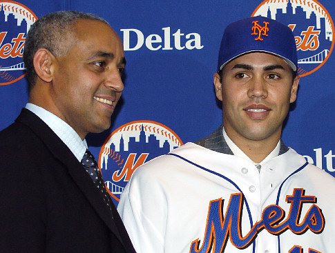 This Date In History Mets Introduce Carlos Beltran