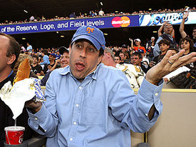 Get out!  On a night in Seinfeld, the Marlins rally late to topple Walker, Mets 3-2