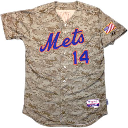 Mets Announce Military Mondays, Reveal Camo Jersey