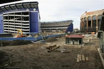 Citi Field Construction Baseball