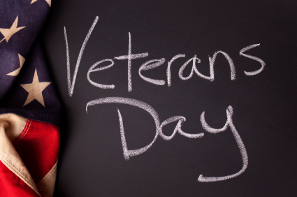 Happy Veteran's Day To All Who Served