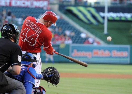 MLB: Texas Rangers at Los Angeles Angels