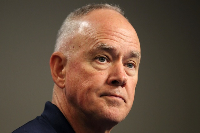 Alderson Says There Will Be Some 'Variation' In 2014 Outfield Configuration