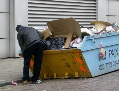When Did Dumpster Diving Become Inspired Genius?