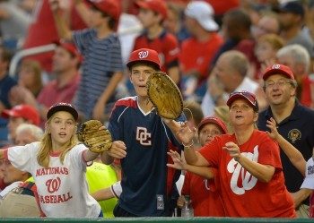 nationals fans