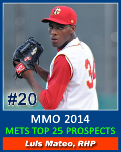 Top 25 Prospects Mateo 20