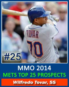 Top 25 Prospects Tovar
