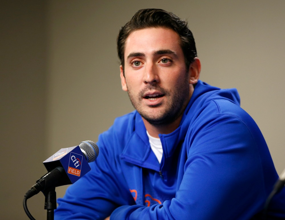 Matt Harvey Threw Today and Feels Brand-New, Awesome and Amazing!