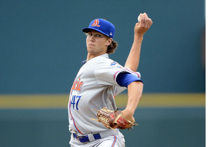 deGrom Hopes Fast Rise Gives Him Leg Up On Role With Mets
