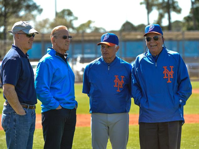 new-york-mets braintrust collins, katz, wilpon alderson