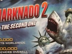 Sharknado 2 Filming At Citi Field Today