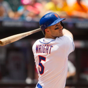Wright Leads NL All Star Balloting At Third Base