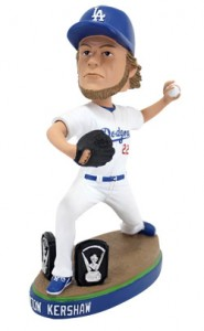 Clayton Kershaw bobble